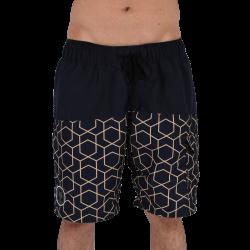 Men Funky Shorts XL [Black/Print]
