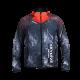 Softshell Jacket Red Printed [Hood]