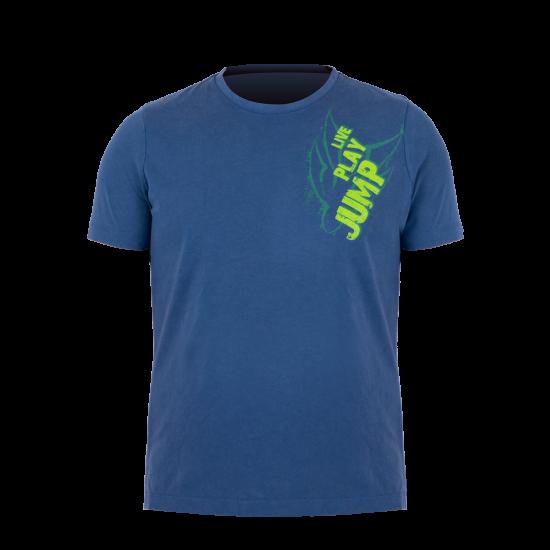 T-Shirt Vintageblue