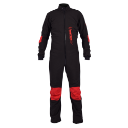 Winter Softshell Suit Black/Red