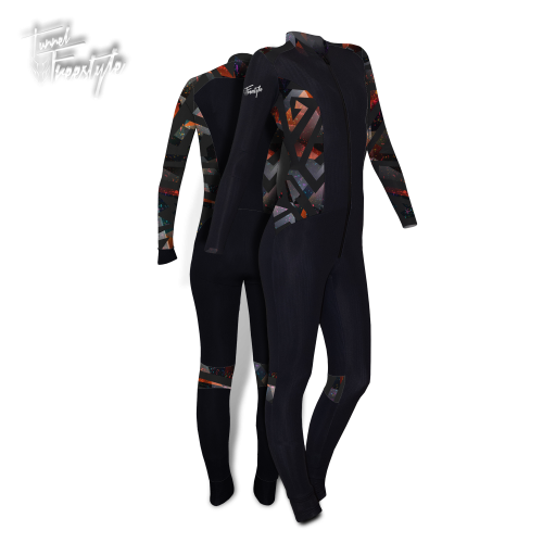 Tunnel Freestyle Woman [M] Black/Print16