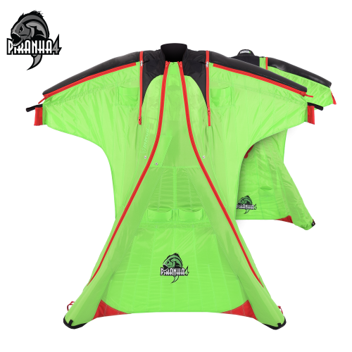 Piranha 4 [M/L] Green/Red