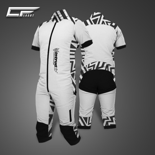 Freefly CF Short Man [S] White/Print17