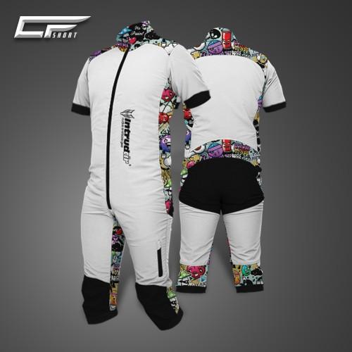 Freefly CF Short Man [XL] White/Print32