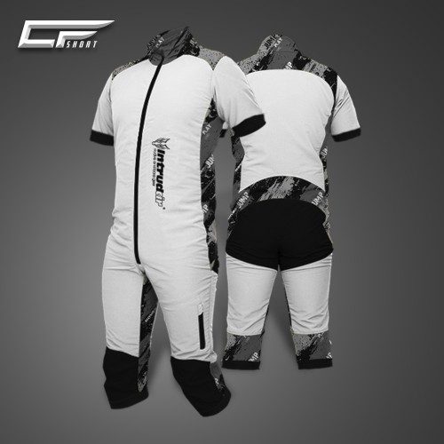 Freefly CF Short Man [M] White/Print39S
