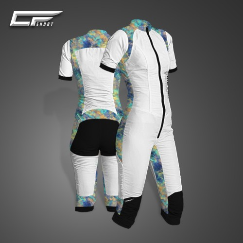 Freefly CF Short Woman [S] White/Print37