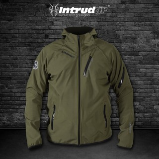 Softshell Jacket Olivegreen [Hood]