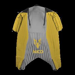 Half-A [L] Yellow/Lightgrey (used)