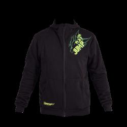 Black/UV Green Hoodie