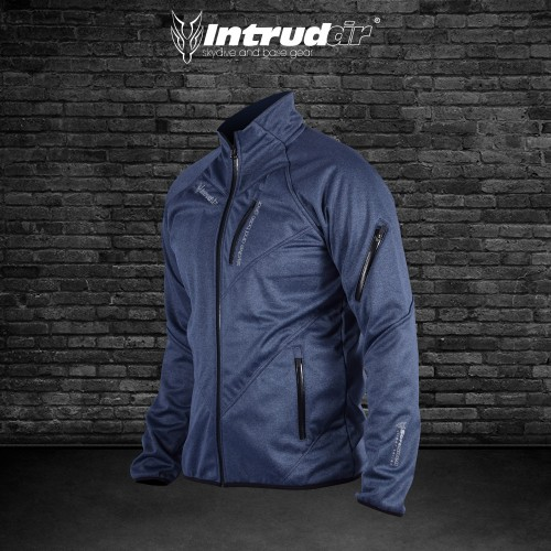 Softshell Jacket Blue Melange