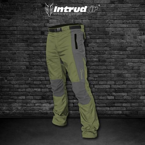 Technical Pants Grey/Olivegreen