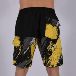 Men Funky Shorts L [Black/Print]