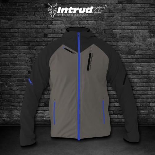 Softshell Jacket Black/Dust/Blue [Hood]