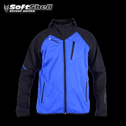 Softshell Jacket Blue/Black [Hood]