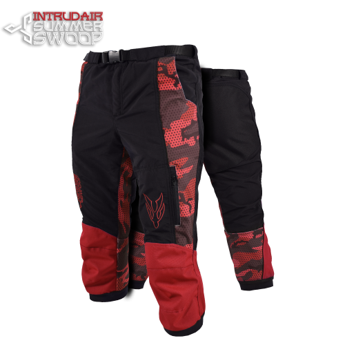 Summer Swoop Black/Red Print
