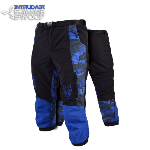 Summer Swoop Black/Blue Print
