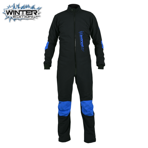 Winter Softshell Suit Black/Blue