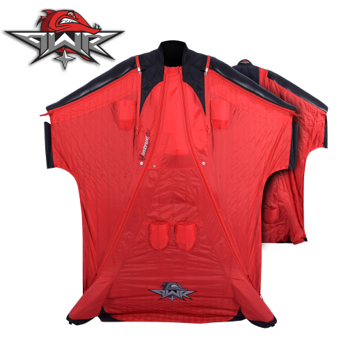 Barracuda Power+ [M/L] Wingsuit RED
