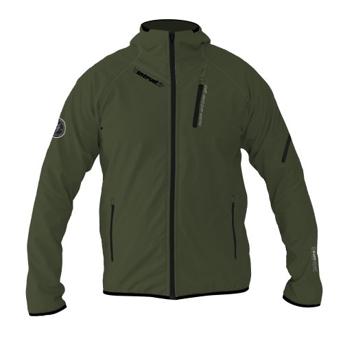 Softshell Jacket Olivegreen [Hood]