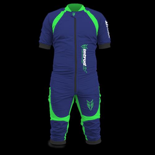 DBC Short [L] Normal Marineblue/UV Green
