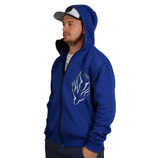 Blue Hoodies