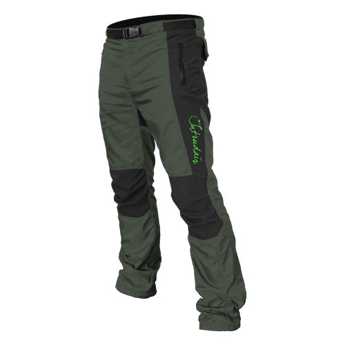 Technical (Winter) Pants Black/Olivegreen