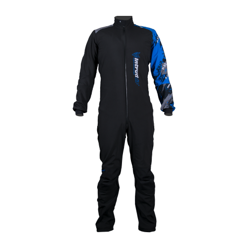 Winter Softshell Suit Woman Black/Blue