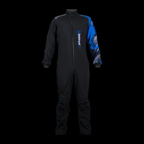 Winter Softshell Suit Woman Black/Blue
