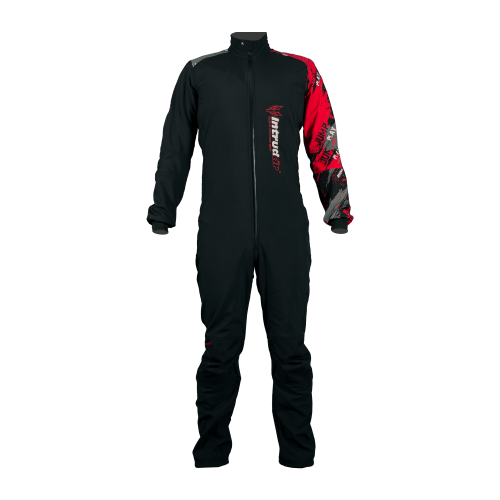 Winter Softshell  Woman Suit Black/Red
